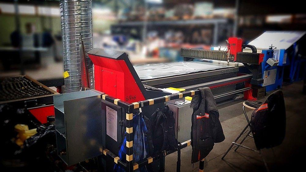 Produkcja elementów wentylacyjnych
