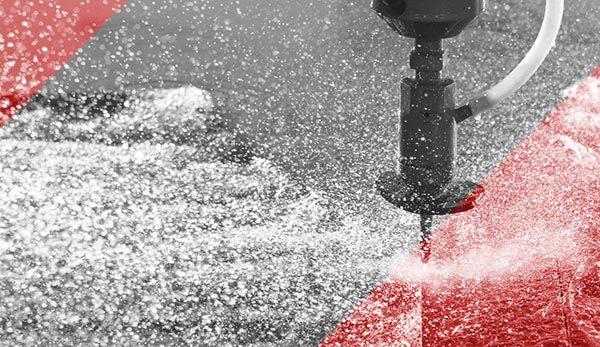 Cięcie wodą (waterjet)