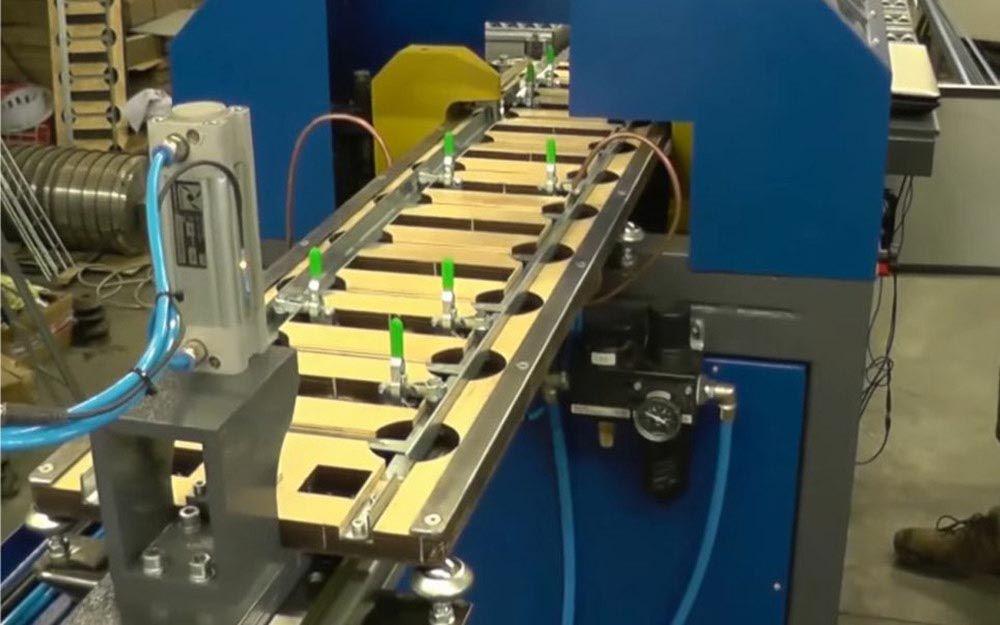 zautomatyzowana produkcja płotków