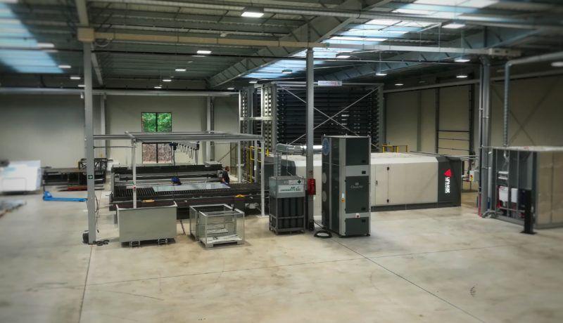 Production of ventilation elements